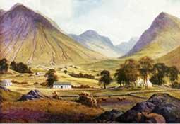 pintura de Glencoe - Juego de Tronos en los siete reinos