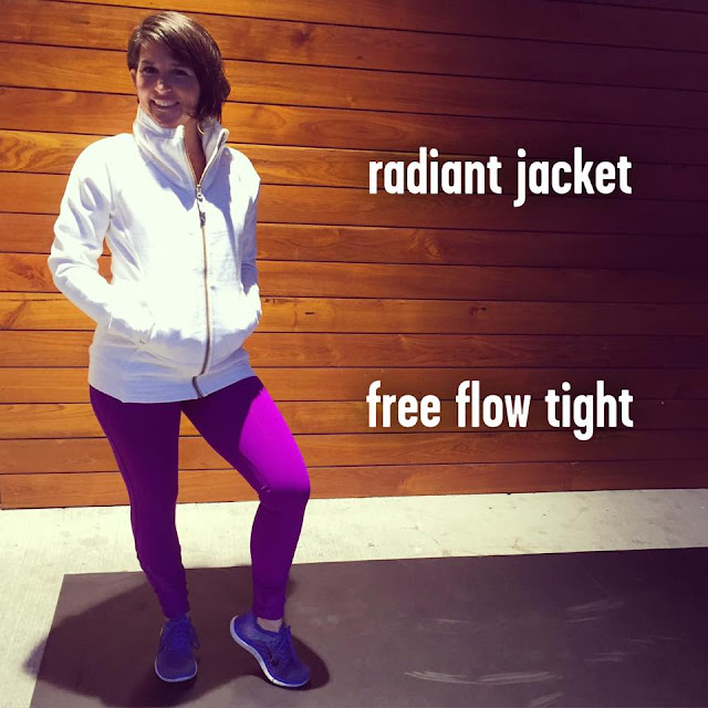 lululemon radiant-jacket free-flow-tight