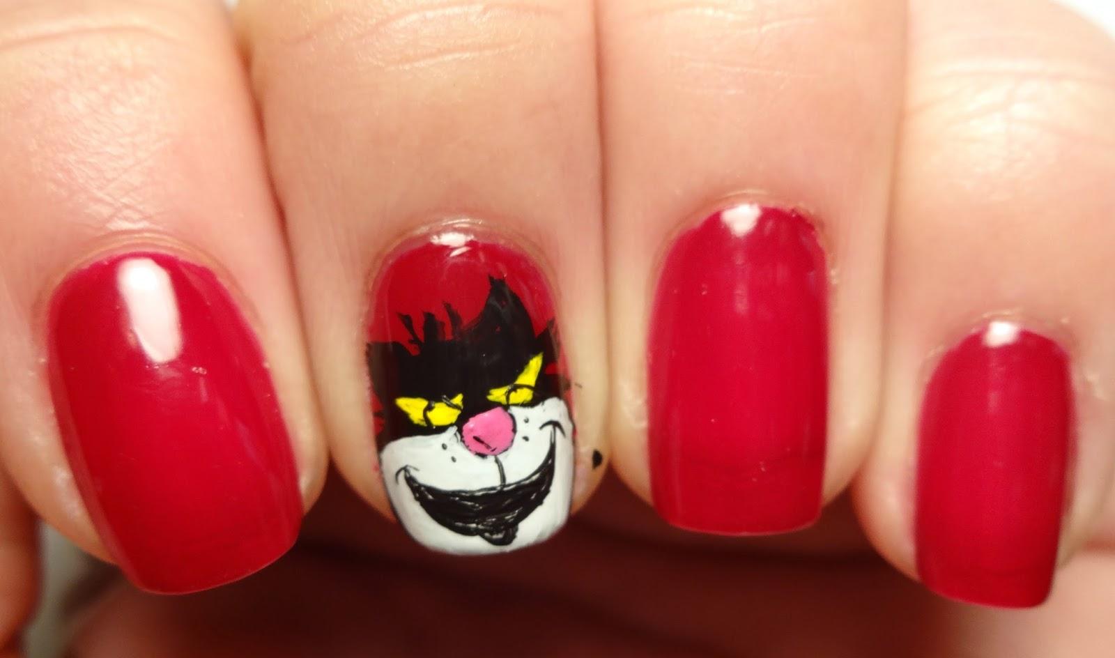 Lucifer Cinderella Nail Art