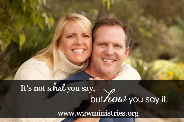 It's not what you say, but how you say it. Remembering to watch our tone of voice and #attitude in #marriage.