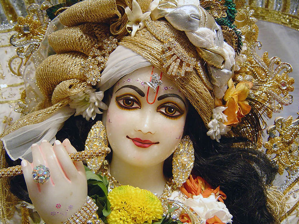 Hd wallpaper lord krishna - Lord Krishna Close Up Hd Wallpapers Free Download