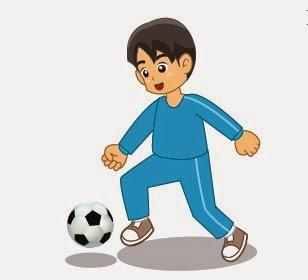 Teknik Cara Menggiring Bola Dengan Kaki Bagian Dalam Sepak bola