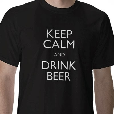 "Enter the ""Keep Calm and Drink Beer"" Shirt Giveaway. Ends 3/14."