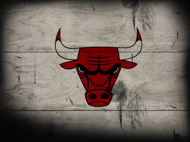 Chicago Bulls Logo on Wood Texture hard disk drive Desktop Wallpaper Super hd