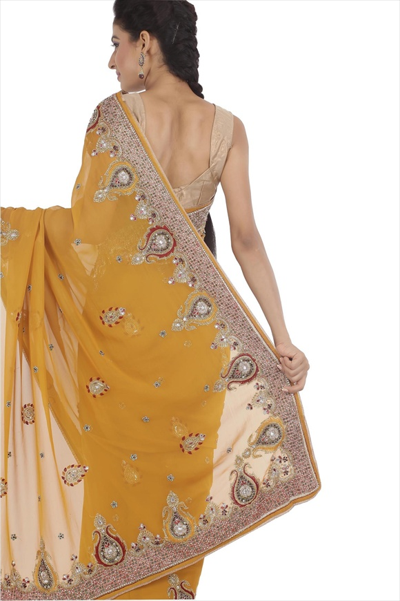 Gold Art sarees