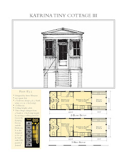 furthermore i think you could modify the plans to put a fold out couch in the keeping room for guests or install two lofts for additional sleeping space - Katrina Cottage Plans