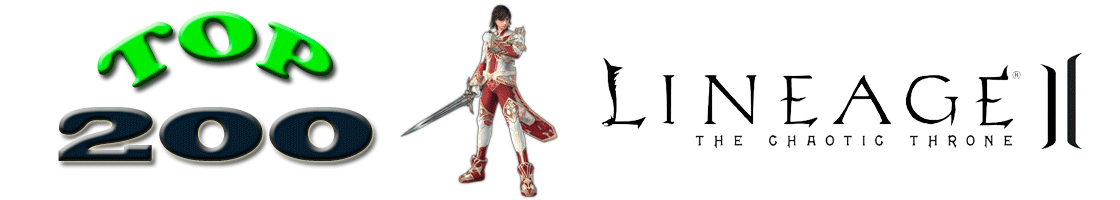 L2top 200 Lineage2 Ranking - Interlude - High Five - Gracia