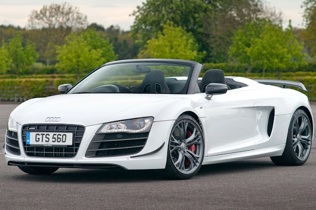 2012 Audi R8 GT Sypder Front Exterior