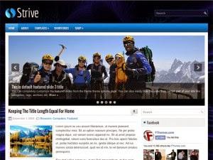Strive - Free Wordpress Theme
