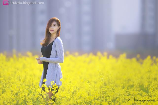3 Another Kim Ha Yul Outdoor- very cute asian girl - girlcute4u.blogspot.com