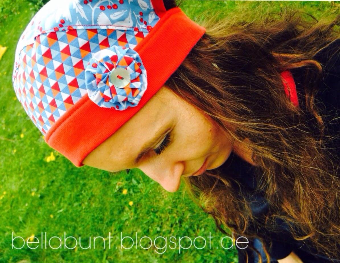 Bella Bunt by Daria Hallmann: Kopftuch- Freebook ist da! Probenähen #1