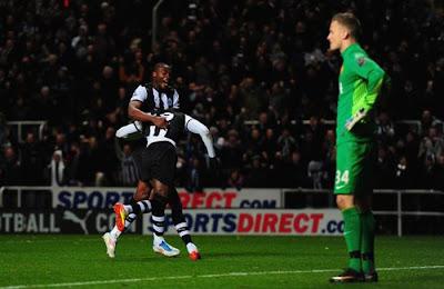 Newcastle United 3 - 0 Manchester United (1)