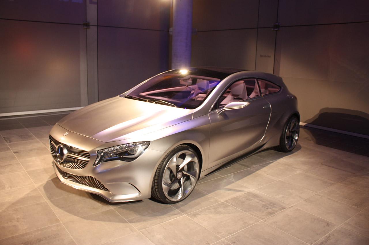 New mercedes benz a class concept car auto car reviews for New mercedes benz concept