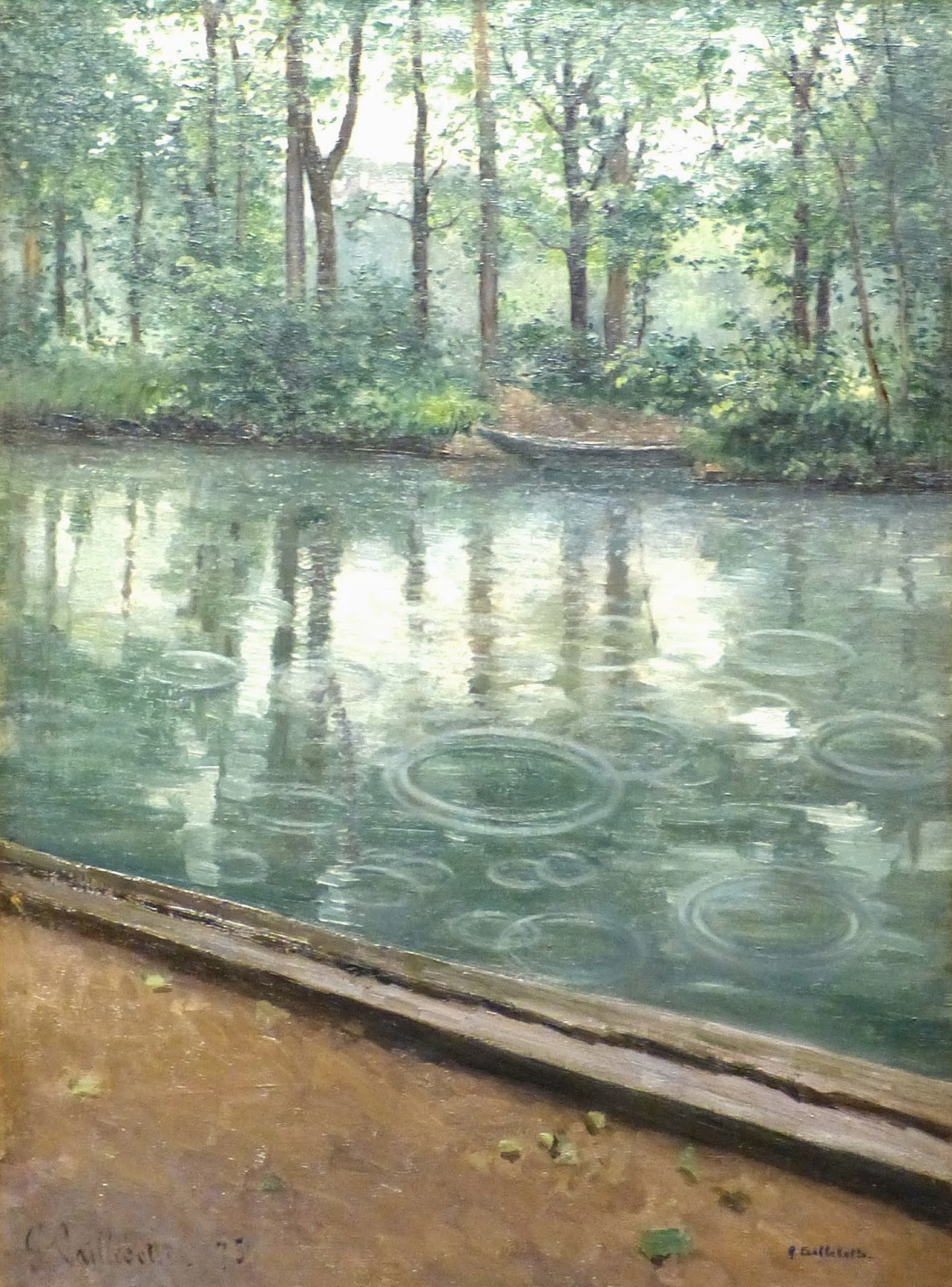Quot Caillebotte 224 Yerres Quot Spend The Day At The Country Home
