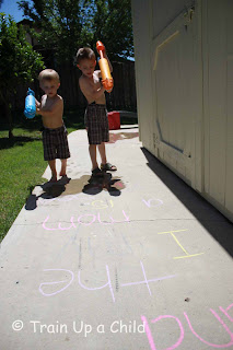 Letter Sounds and Sight Word Spray
