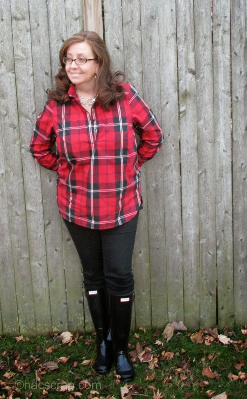 How To Style Plaid - MidLife Mom Style Ideas