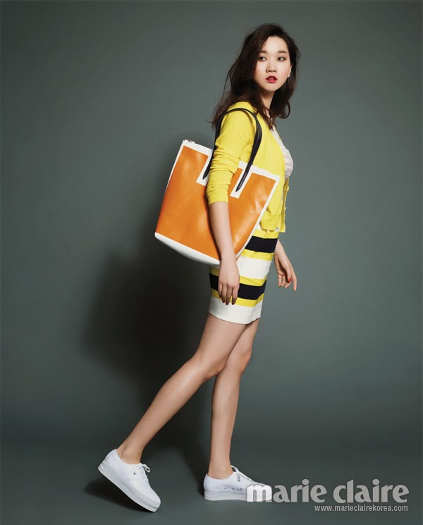 A Spring In Her Step Marie Claire Korea May 2013 P S Korea
