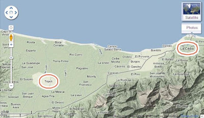 Tripoli, Atlantida, Honduras map