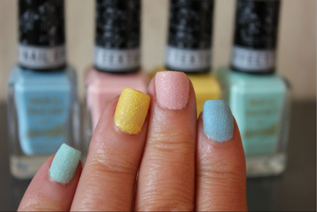 Line Texture On Nails : New barry m textured nail paints review the sunday girl