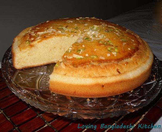 Loving Bangladeshi Kitchen র ন ন ঘর Simple Cake