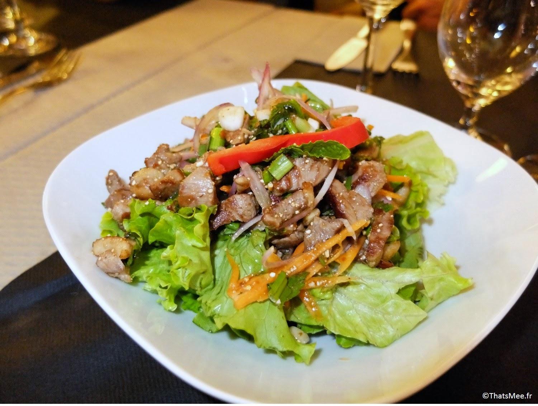canard sauté Thai Spices resto Cantine Thaï Paris