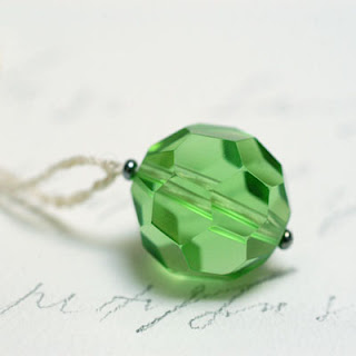 TonyaUtkina green pendant