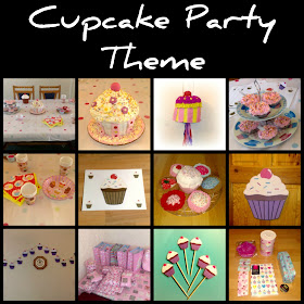 cupcake party theme