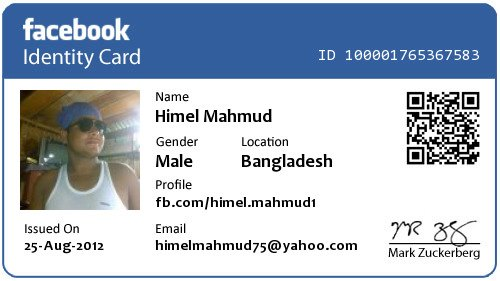 how to change facebook id number