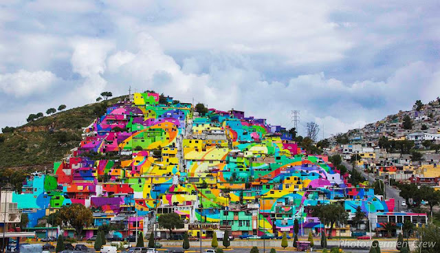 In an unprecedented effort, Germen Crew and the government of Mexico joined forces to rehabilitate and beautify an entire district of Pachuca in Mexico.