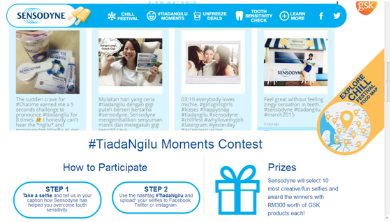 #TiadaNgilu Moments Contest