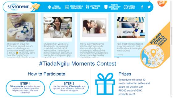 #TiadaNgilu Moments Contest