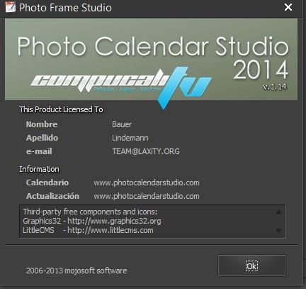 Photo Calendar Studio 2014 Español