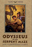 bookcover of ODYSSEUS IN THE SERPENT MAZE  (Young Heroes) by Robert J. Harris and Jane Yolen