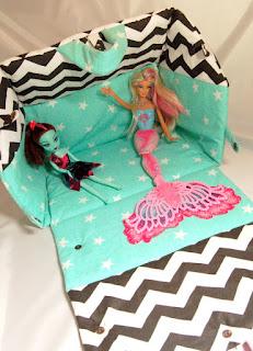 domek dla lalek szyty bajbi barbie