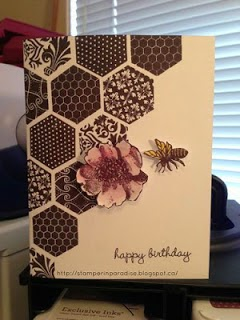 handmade bee cards