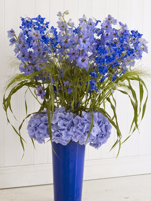 delphinium flower arrangements