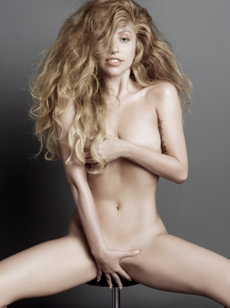 Lady Gaga nude in V magazine by Inez and Vinoodh