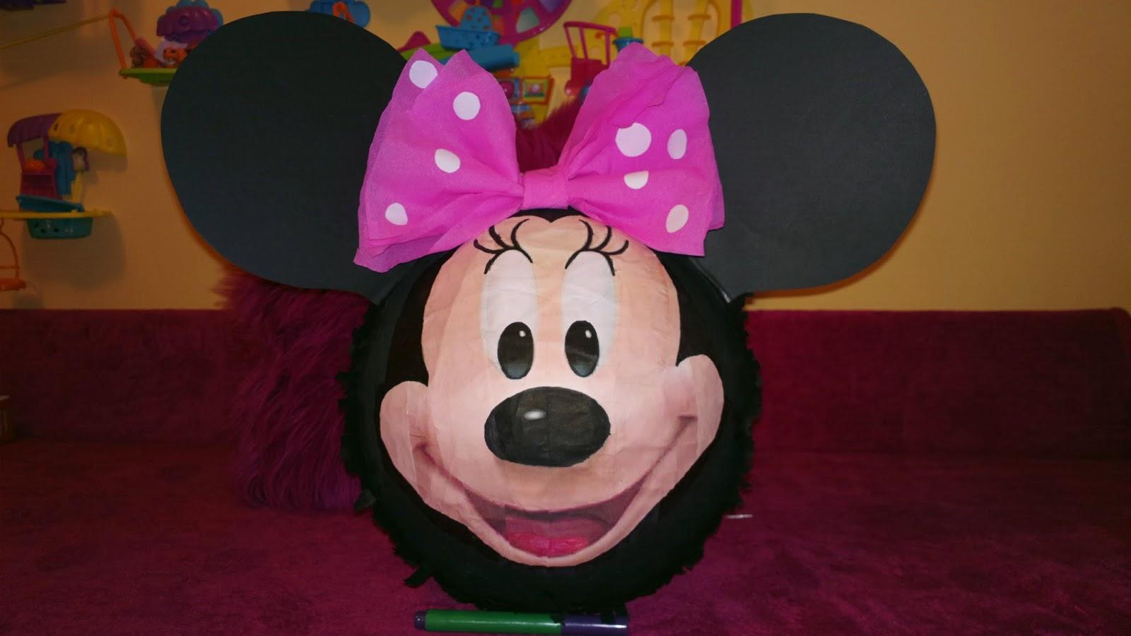 Piniata Myszka Minnie - Piniata dla dziewczynek