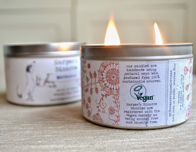 Vegan Soya Wax Candles by Harper's
