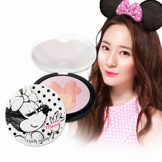 disney, etude minnie, xoxo minnie etude, jual etude murah, jual etude, blush on etude, highlighter etude, review