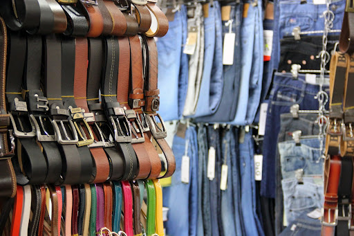 Purchases of belts and accessories in Saigon