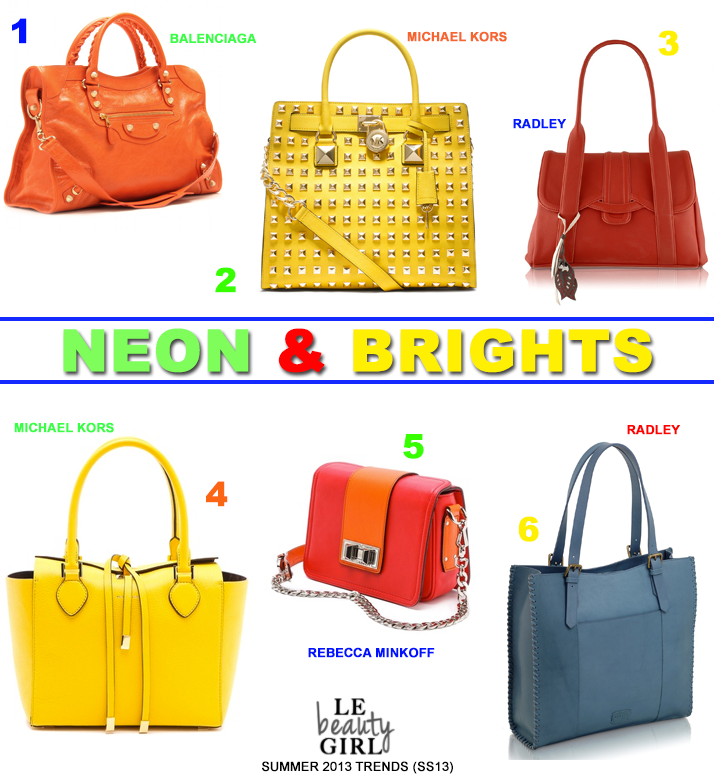 Top Summer 2013 Handbag Trends (SS13)