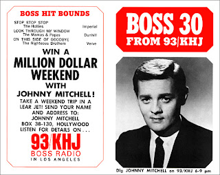 KHJ Boss 30 No. 66 - Johnny Mitchell
