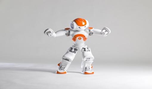 Robô NAO - Feira de tecnologia e empregabilidade IFPR