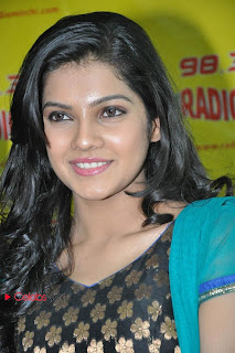Ashrita Shetty Salwar Kameez Picture Gallery on NH 4 Audio Launch at Radio Mirchi 0009