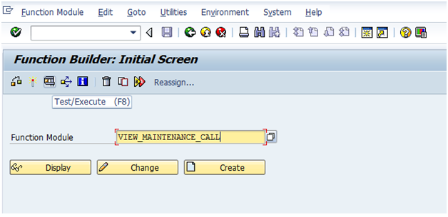 how to call function module in cds view
