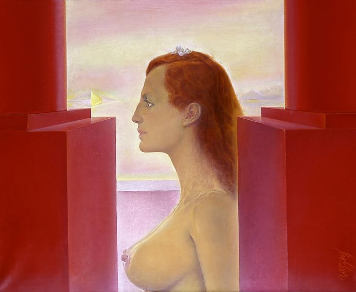 René Miessen 1911-2000 | Belgian  Symbolist painter