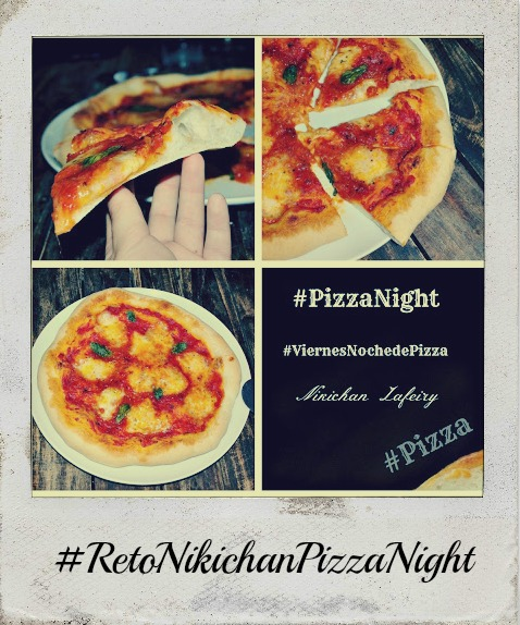 #RetoNikichanPizzaNight