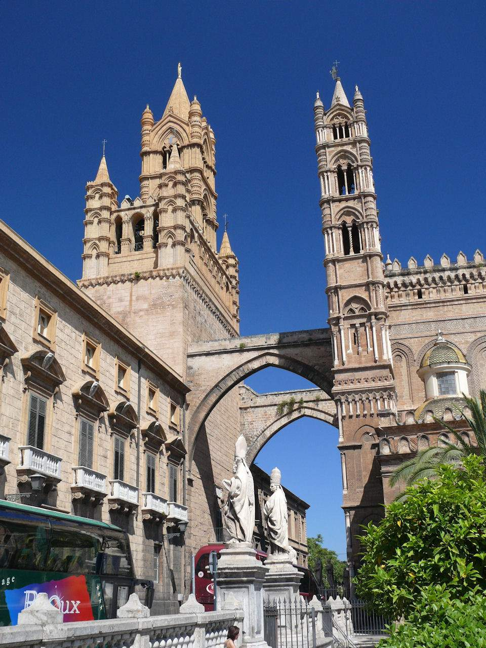 Catedral de Palermo, Sicília, Itália.