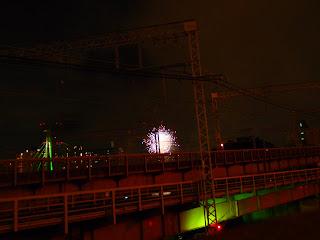2011天神祭 奉納花火大会へ!